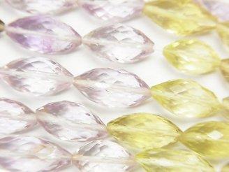 【動画】宝石質いろんな天然石AAA- ライスカット 半連/1連(約37cm)