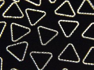 天然石卸 Silver925 トライアングルカン(開閉タイプ) グリッター 【5mm】【7.6mm】【10mm】 20個400円〜!