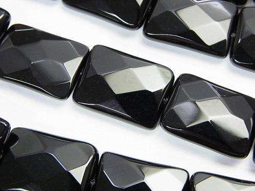オニキス レクタングルカット18×13×5mm 半連/1連(約35cm)