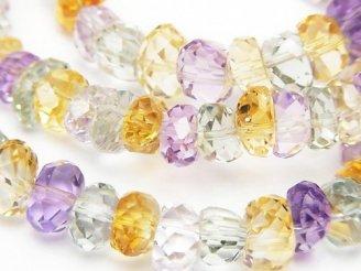 天然石卸 1連5,980円!宝石質いろんな天然石AAA タンブルカット 1連(ブレス)