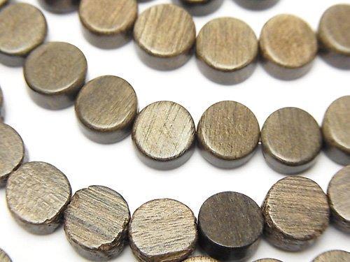 グレーウッド コイン8×8×5mm 1連(約38cm)
