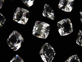 天然石卸 問屋 販売|ケンケンジェムズ ドットコム 1粒2,980円!宝石質ダンビュライトAAA スクエア ファセットカット8mm 1粒