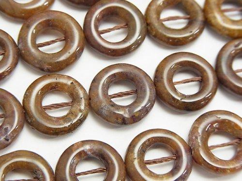 ピーターサイト コイン(ドーナツ) 13×13×3mm 半連/1連(約38cm)