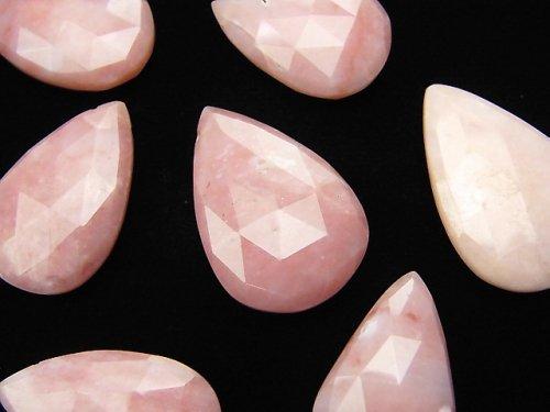 粒売り!宝石質ピンクオパールAAA 大粒ペアシェイプ ブリオレットカット