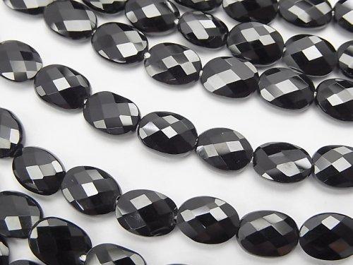 【動画】宝石質ブラックスピネルAAA オーバルカット8×6×3mm 1/4連〜1連(約38cm)