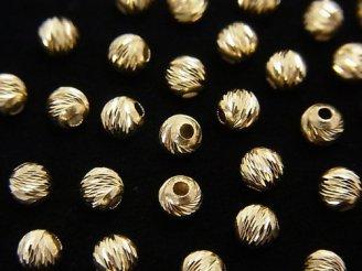 【K14 Yellow Gold】 マルチラウンドカット【2mm】【2.5mm】【3mm】【4mm】 3粒680円〜!