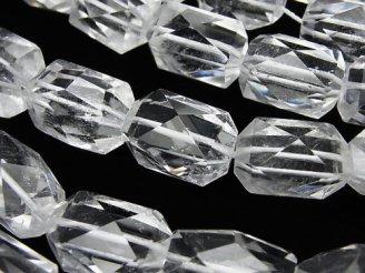 天然石卸 素晴らしい輝き!クリスタルAA++ タンブルカット 半連/1連(約36cm)