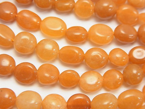 オレンジアベンチュリン 小粒タンブル 1連(約38cm)