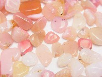 天然石卸 ピンクオパールAAA-〜AA 穴なしチップ(さざれ) 100グラム580円〜!