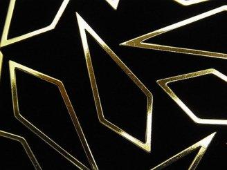 天然石卸 メタルパーツ コンポーネント カイト40×15mm ゴールドカラー 5個340円!