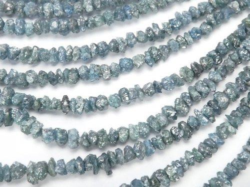 ブルーダイヤモンド チップ(ミニタンブル) 1/4連〜1連(約38cm)