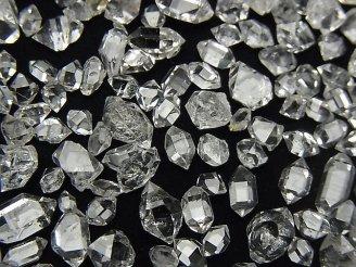 天然石卸 NY産ハーキマーダイヤモンドAAA 穴なしラフ 【Sサイズ】 5グラム1,380円!