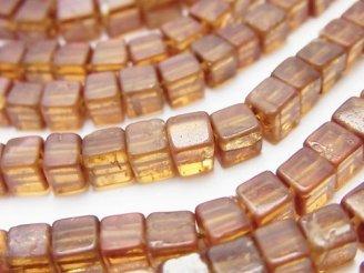 天然石卸 1連1,180円〜!ヘソナイトAA++〜AA+ キューブ 1連(約37cm)