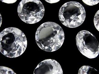 天然石卸 粒売り!宝石質クリスタルAAA 穴なしブリリアントカット15×15×7mm 5粒2,380円!