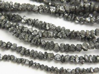 天然石卸 1連4,980円!ブラックダイヤモンド チップ 1連(約37cm)