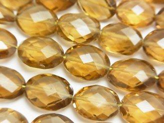 天然石卸 宝石質ビアクォーツAAA オーバルカット 半連/1連(約42cm)