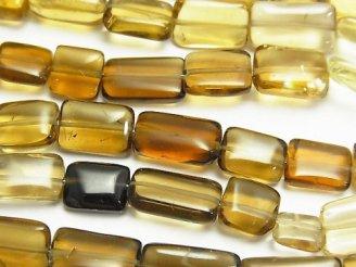 天然石卸 1連1,380円!宝石質ビアクォーツAA++ レクタングル 1連(約23cm)
