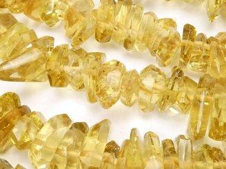 天然石卸 宝石質ビアクォーツAAA 横長タンブルカット クレオ穴 半連/1連(約38cm)