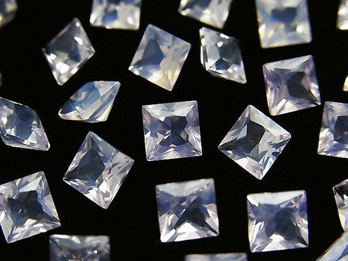 宝石質スコロライトAAA 穴なしプリンセスカット6×6mm 4粒1,980円!