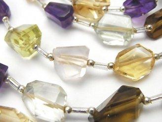 天然石卸 1連3,980円!宝石質いろんな天然石AAA- タンブルカット 1連(約34cm)