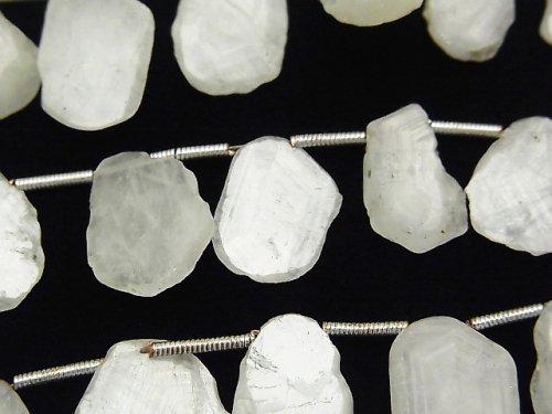 ホワイトサファイア スライスタンブル 1連(約18cm)