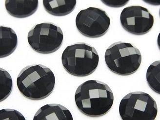 天然石卸 オニキス ラウンド カボションカット10×10mm 5個480円!