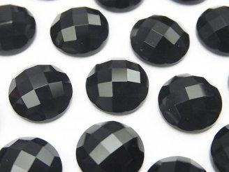 天然石卸 オニキス ラウンド カボションカット12×12mm 5個580円!