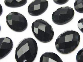 天然石卸 オニキス オーバル カボションカット18×13mm 3個480円!