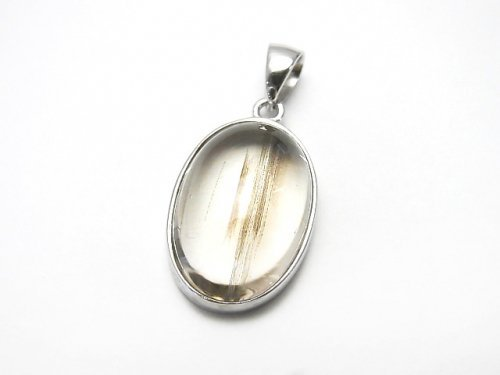 【1点もの】インド産宝石質スキャポライトAAA ペンダントトップ SILVER925製 NO.88