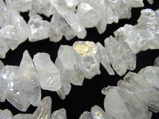 天然石卸 1連780円!クリスタル ラフロックタンブル ABコーティング 1連(約36cm)
