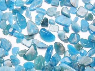天然石卸 ブルーアパタイトAA+ 穴なしチップ(さざれ) 100グラム480円〜!