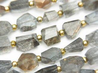 天然石卸 1連3,980円!宝石質モスアクアマリンAAA タンブルカット 【Mサイズ】 1連(約18cm)