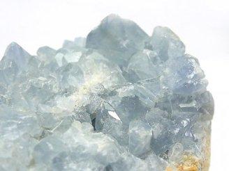 1点もの!マダガスカル産セレスタイト 特大原石クラスター NO.1