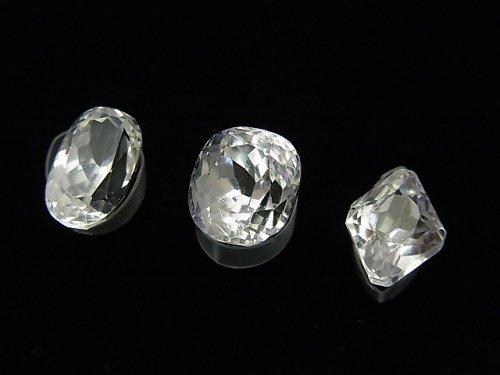 【1点もの】宝石質スポデューメンAAA ファセットカット 3粒セット NO.41
