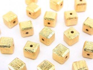 粒売り!メテオライト(ムオニナルスタ隕石) キューブ6×6×6mm イエローゴールド 1粒1,280円!