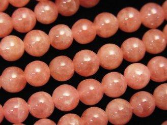 天然石卸 問屋 販売|ケンケンジェムズ ドットコム アルゼンチン産インカローズAAA ラウンド6mm 1/4連〜1連(約38cm)