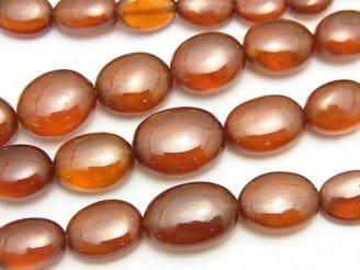 天然石卸 1連3,980円!宝石質ヘソナイトAAA タンブル サイズグラデーション 1連(約42cm)