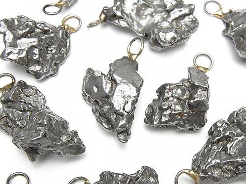 アルゼンチン産カンポ・デル・シエロ(隕石) ペンダントトップ 【M〜Lサイズ】 1個