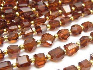 天然石卸 1連1,980円!宝石質ヘソナイトAAA タンブルカット 1連(約17cm)