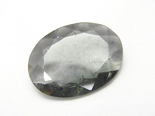 【1点もの】宝石質バイカラートルマリンAAA(グリーン×ピンク) ファセットカット 1粒 NO.65