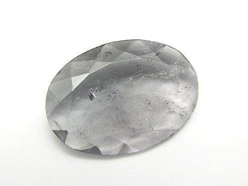 【1点もの】宝石質バイカラートルマリンAAA(ピンク×グレー) 大粒ファセットカット 1粒 NO.66