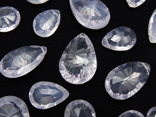 【動画】【粒売り】宝石質スコロライトAAA- ペアシェイプ コンケーブカット 5粒