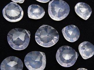 天然石卸 粒売り!宝石質スコロライトAAA- マロン コンケーブカット 5粒2,780円!