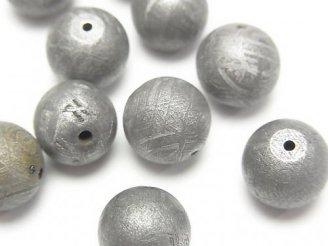 天然石卸 ◆特価◆粒売り!メテオライト(ムオニナルスタ隕石) ナチュラルカラー ラウンド10mm 1粒1,980円!