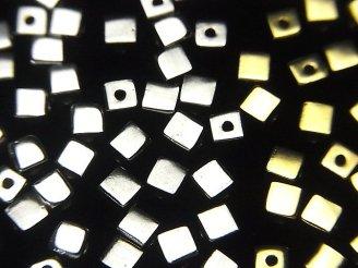 Silver925 キューブ4×4×4mm 純銀仕上げ 4粒320円!