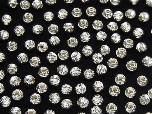 新サイズ登場!Silver925 ラウンドマルチカット 2mm・3mm・4mm・6mm・8mm 10個