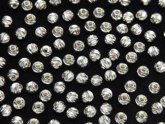 天然石卸 新サイズ登場!Silver925 ラウンドマルチカット 2mm・3mm・4mm・6mm・8mm 10個240円〜!