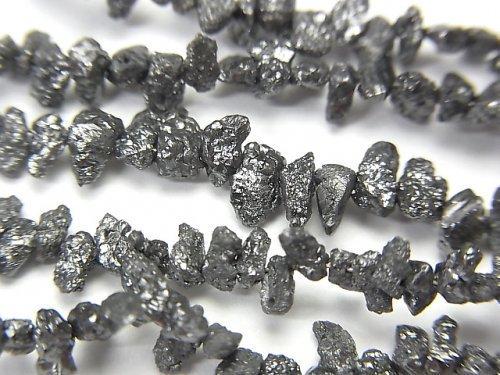 ブラックダイヤモンド チップ クレオ穴 半連/1連(約40cm)
