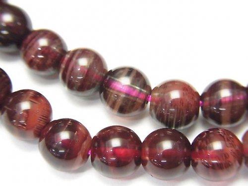 宝石質チベット産アンデシンAAA ラウンド6.5mm 1連(ブレス)