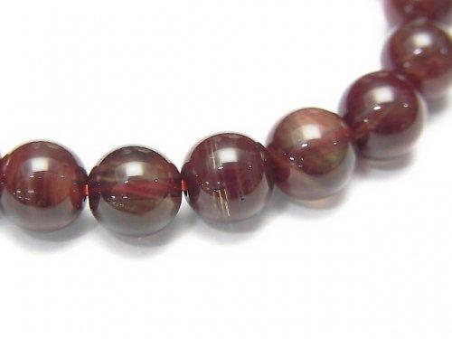 【1点もの】宝石質チベット産アンデシンAAA ラウンド8mm 1連(ブレス)